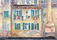 Malerische Dorfansichten in Aquarell (Tischkalender 2019 DIN A5 quer) - Produktdetailbild 9