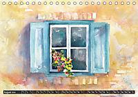 Malerische Dorfansichten in Aquarell (Tischkalender 2019 DIN A5 quer) - Produktdetailbild 8