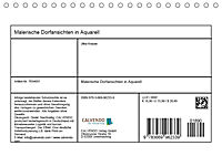 Malerische Dorfansichten in Aquarell (Tischkalender 2019 DIN A5 quer) - Produktdetailbild 13