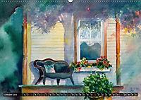 Malerische Dorfansichten in Aquarell (Wandkalender 2019 DIN A2 quer) - Produktdetailbild 10