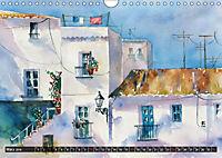 Malerische Dorfansichten in Aquarell (Wandkalender 2019 DIN A4 quer) - Produktdetailbild 3