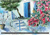 Malerische Dorfansichten in Aquarell (Wandkalender 2019 DIN A4 quer) - Produktdetailbild 6