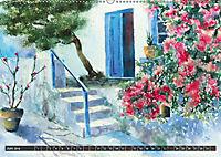 Malerische Dorfansichten in Aquarell (Wandkalender 2019 DIN A2 quer) - Produktdetailbild 6