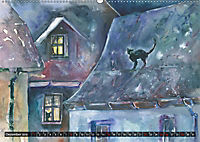 Malerische Dorfansichten in Aquarell (Wandkalender 2019 DIN A2 quer) - Produktdetailbild 12