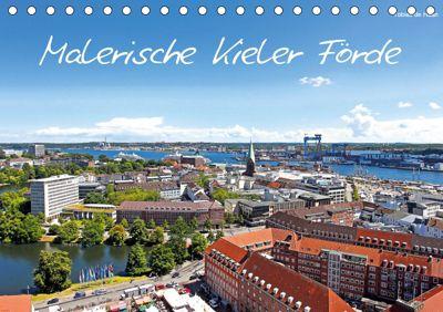 Malerische Kieler Förde (Tischkalender 2019 DIN A5 quer), Tobias de Haan