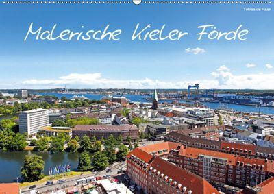 Malerische Kieler Förde (Wandkalender 2019 DIN A2 quer), Tobias de Haan