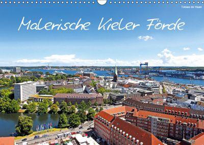 Malerische Kieler Förde (Wandkalender 2019 DIN A3 quer), Tobias de Haan