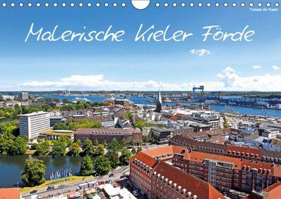 Malerische Kieler Förde (Wandkalender 2019 DIN A4 quer), Tobias de Haan