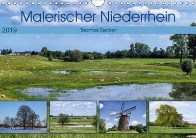 Malerischer Niederrhein (Wandkalender 2019 DIN A4 quer), Thomas Becker