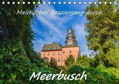 Malerischer Spaziergang durch Meerbusch (Tischkalender 2019 DIN A5 quer), Bettina Hackstein