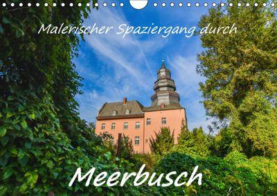 Malerischer Spaziergang durch Meerbusch (Wandkalender 2019 DIN A4 quer), Bettina Hackstein
