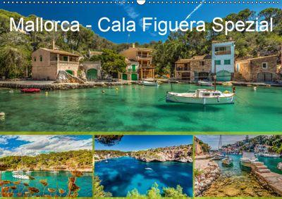 Mallorca - Cala Figuera Spezial (Wandkalender 2019 DIN A2 quer), Jürgen Seibertz