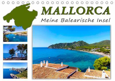 MALLORCA, Meine Balearische Insel (Tischkalender 2019 DIN A5 quer), Andrea Dreegmeyer