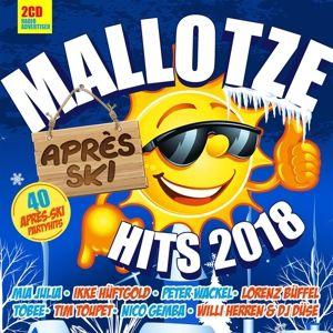 Mallotze Hits-Apres Ski 2018, Diverse Interpreten
