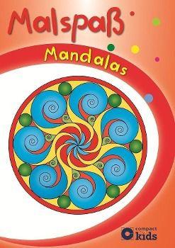 Malspaß Mandalas (Rot)