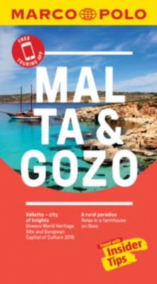 Malta and Gozo Marco Polo Pocket Travel Guide 2018 - with pull out map
