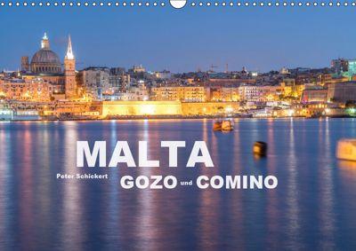 Malta - Gozo und Comino (Wandkalender 2019 DIN A3 quer), Peter Schickert