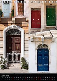 Maltesische Türen - Stimmungsvoll, schön und farbenfroh (Tischkalender 2019 DIN A5 hoch) - Produktdetailbild 4