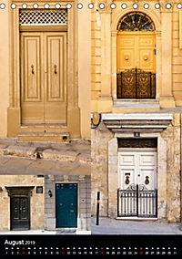 Maltesische Türen - Stimmungsvoll, schön und farbenfroh (Tischkalender 2019 DIN A5 hoch) - Produktdetailbild 8