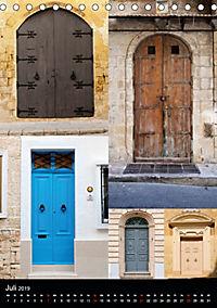 Maltesische Türen - Stimmungsvoll, schön und farbenfroh (Tischkalender 2019 DIN A5 hoch) - Produktdetailbild 7