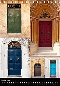 Maltesische Türen - Stimmungsvoll, schön und farbenfroh (Tischkalender 2019 DIN A5 hoch) - Produktdetailbild 3