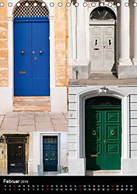 Maltesische Türen - Stimmungsvoll, schön und farbenfroh (Tischkalender 2019 DIN A5 hoch) - Produktdetailbild 2