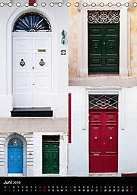Maltesische Türen - Stimmungsvoll, schön und farbenfroh (Tischkalender 2019 DIN A5 hoch) - Produktdetailbild 6