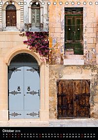 Maltesische Türen - Stimmungsvoll, schön und farbenfroh (Tischkalender 2019 DIN A5 hoch) - Produktdetailbild 10