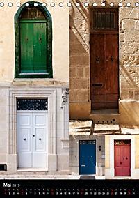 Maltesische Türen - Stimmungsvoll, schön und farbenfroh (Tischkalender 2019 DIN A5 hoch) - Produktdetailbild 5