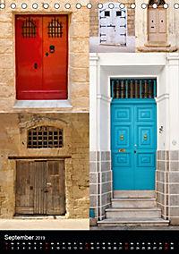 Maltesische Türen - Stimmungsvoll, schön und farbenfroh (Tischkalender 2019 DIN A5 hoch) - Produktdetailbild 9