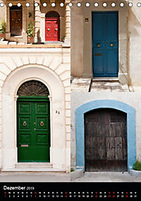Maltesische Türen - Stimmungsvoll, schön und farbenfroh (Tischkalender 2019 DIN A5 hoch) - Produktdetailbild 12