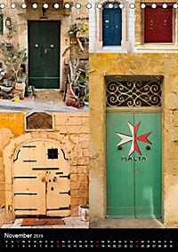 Maltesische Türen - Stimmungsvoll, schön und farbenfroh (Tischkalender 2019 DIN A5 hoch) - Produktdetailbild 11