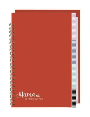 Mama AG Familienplaner Buch A6 2019