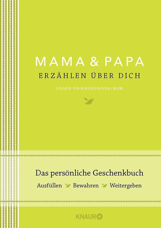 Mama Und Papa Erzählen über Dich Buch Versandkostenfrei Bei