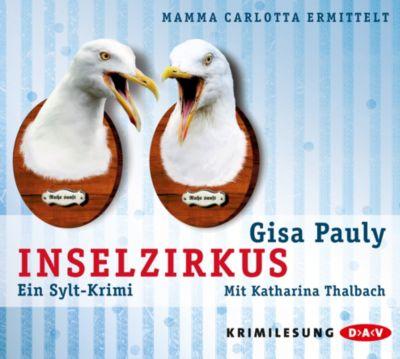 Mamma Carlotta Band 5: Inselzirkus (4 Audio-CDs), Gisa Pauly