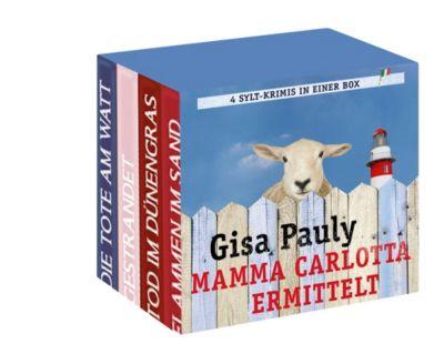Mamma Carlotta ermittelt. Die ersten vier Fälle, 22 Audio-CDs, Gisa Pauly