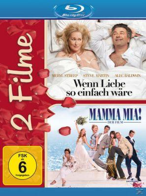 Mamma Mia! - Der Film, Wenn Liebe so einfach wäre - 2 Disc Bluray, Amanda Seyfried,Pierce Brosnan Meryl Streep
