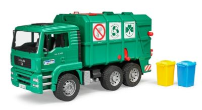 MAN TGA Müll-LKW grün