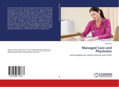 Managed Care and Physicians, Junlin Liao