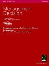Management Decision: Management Decision, Volume 40, Issue 10