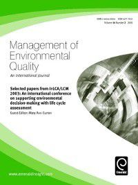 Management of Environmental Quality: An International Journal: Management of Environmental Quality: An International Journal, Volume 16, Issue 2