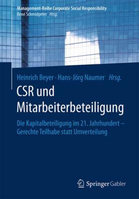 Management-Reihe Corporate Social Responsibility: CSR und Mitarbeiterbeteiligung