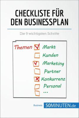 Management und Marketing: Checkliste für den Businessplan, 50Minuten.de