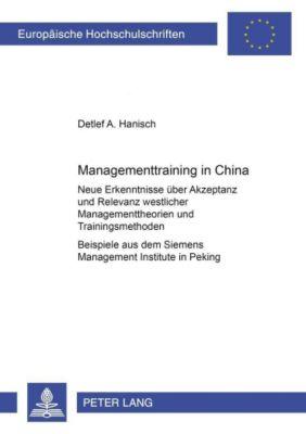 Managementtraining in China, Detlef A. Hanisch