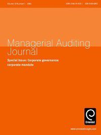 Managerial Auditing Journal: Managerial Auditing Journal, Volume 19, Issue 1