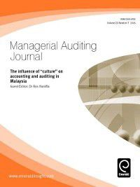 Managerial Auditing Journal: Managerial Auditing Journal, Volume 21, Issue 7