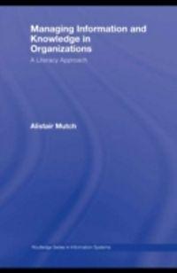 Managing information in organisation h m