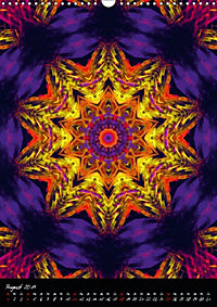 Mandala - Esoterik & Meditation / CH-Version (Wandkalender 2019 DIN A3 hoch) - Produktdetailbild 8