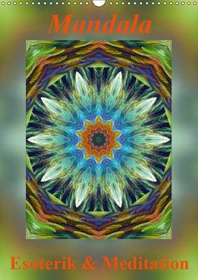 Mandala - Esoterik & Meditation / CH-Version (Wandkalender 2019 DIN A3 hoch), Art-Motiva