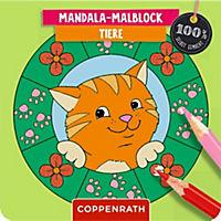 Mandala-Malblock - Tiere - Produktdetailbild 1